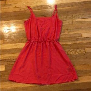 Jack small reddish pink dress